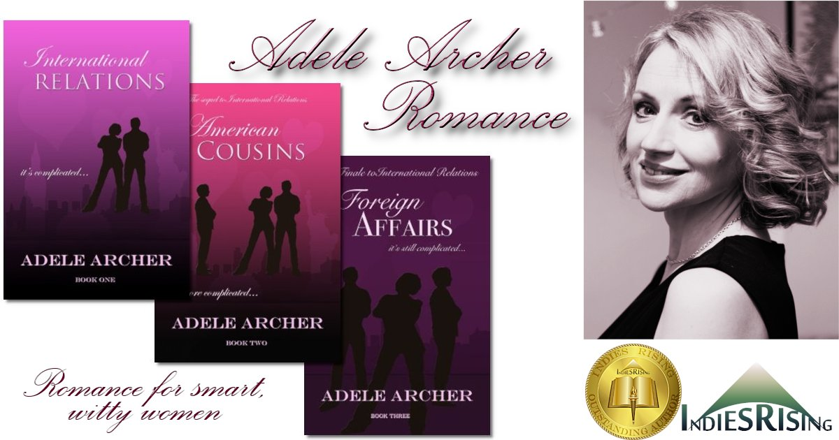 books and novels by outstanding independent self-published author Adele Archer