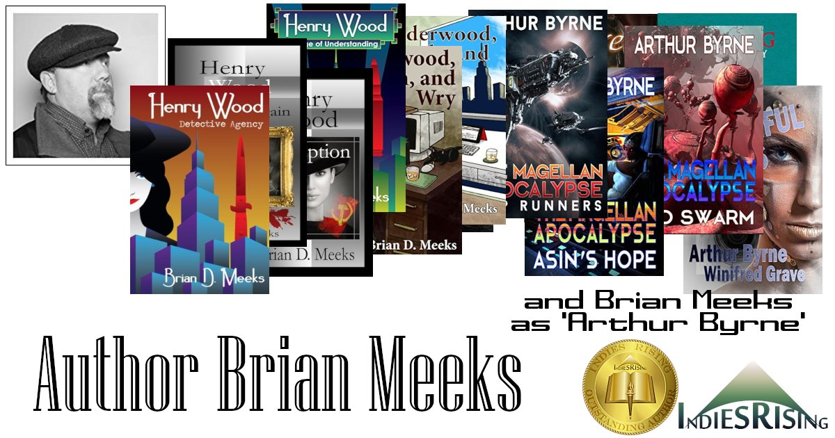 books and novels by outstanding independent self-published author Brian Meeks