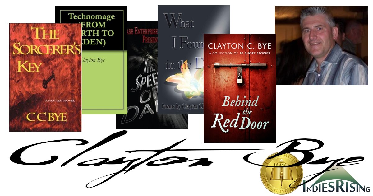 books and novels by outstanding independent self-published author Clayton Bye