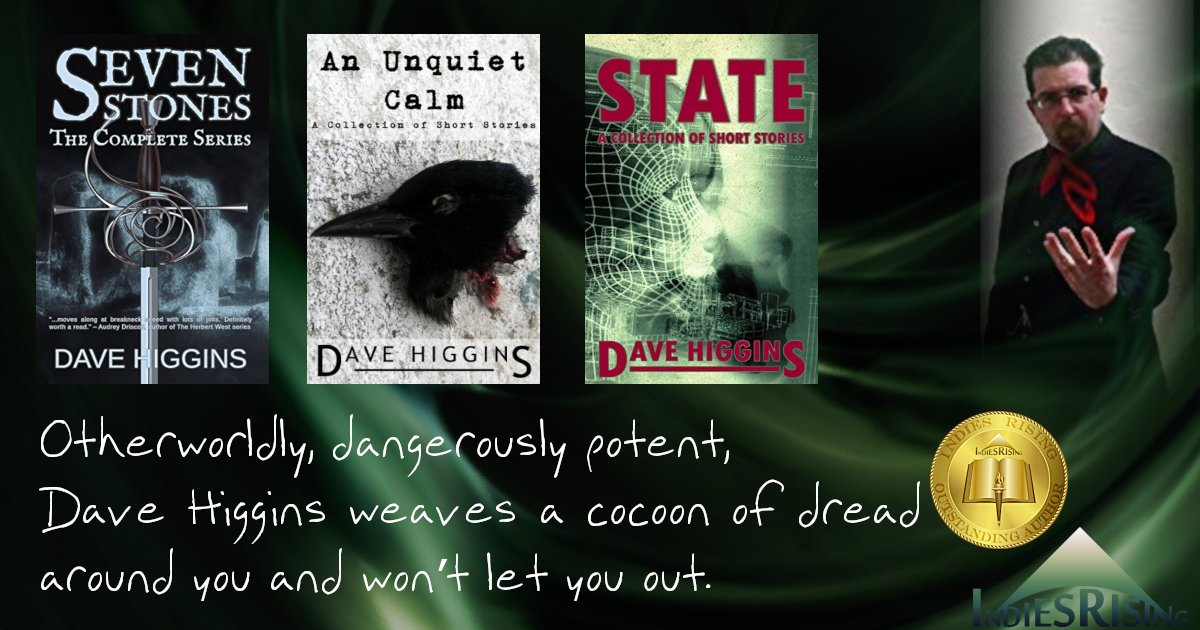 books and novels by outstanding independent self-published author Dave Higgins