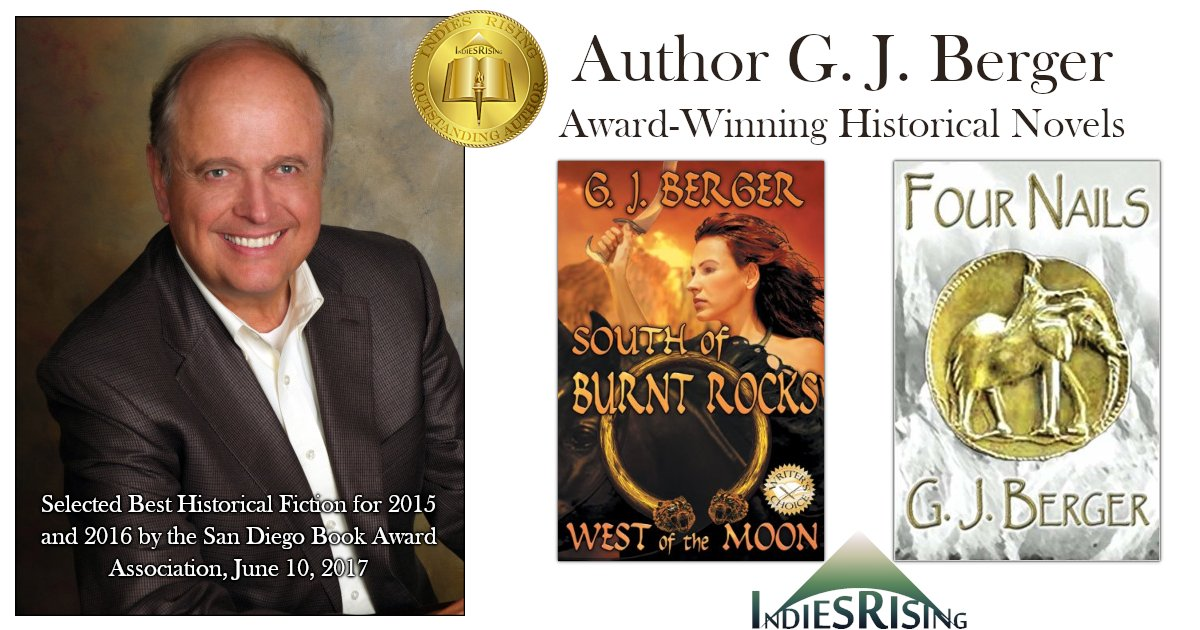 books and novels by outstanding independent self-published author G. J. Berger