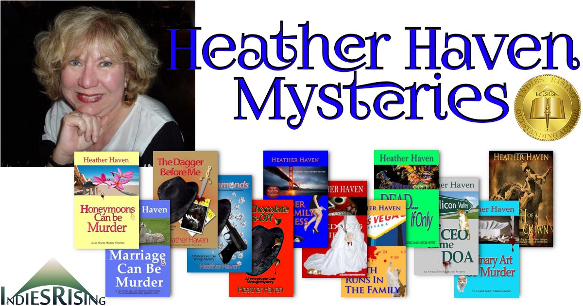 books and novels by outstanding independent self-published author Heather Haven