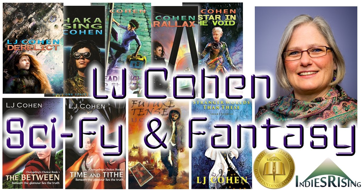 books and novels by outstanding independent self-published author LJ Cohen