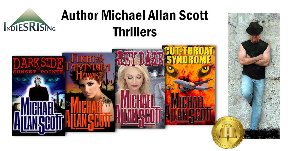books and novels by outstanding independent self-published author Michael Allan Scott
