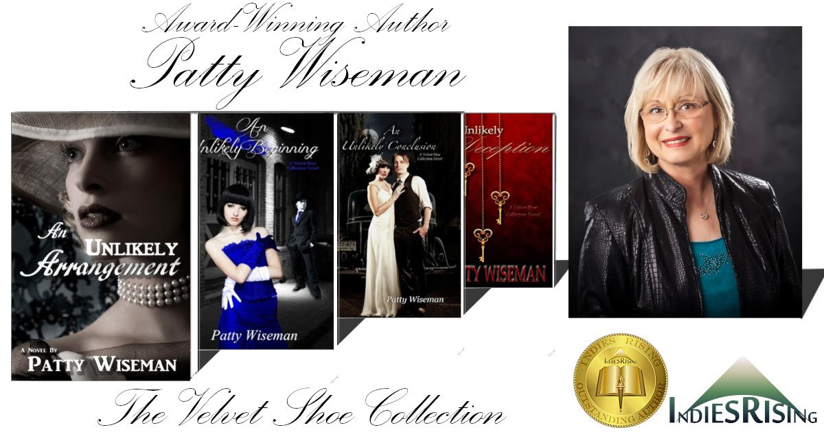 books and novels by outstanding independent self-published author Patty Wiseman