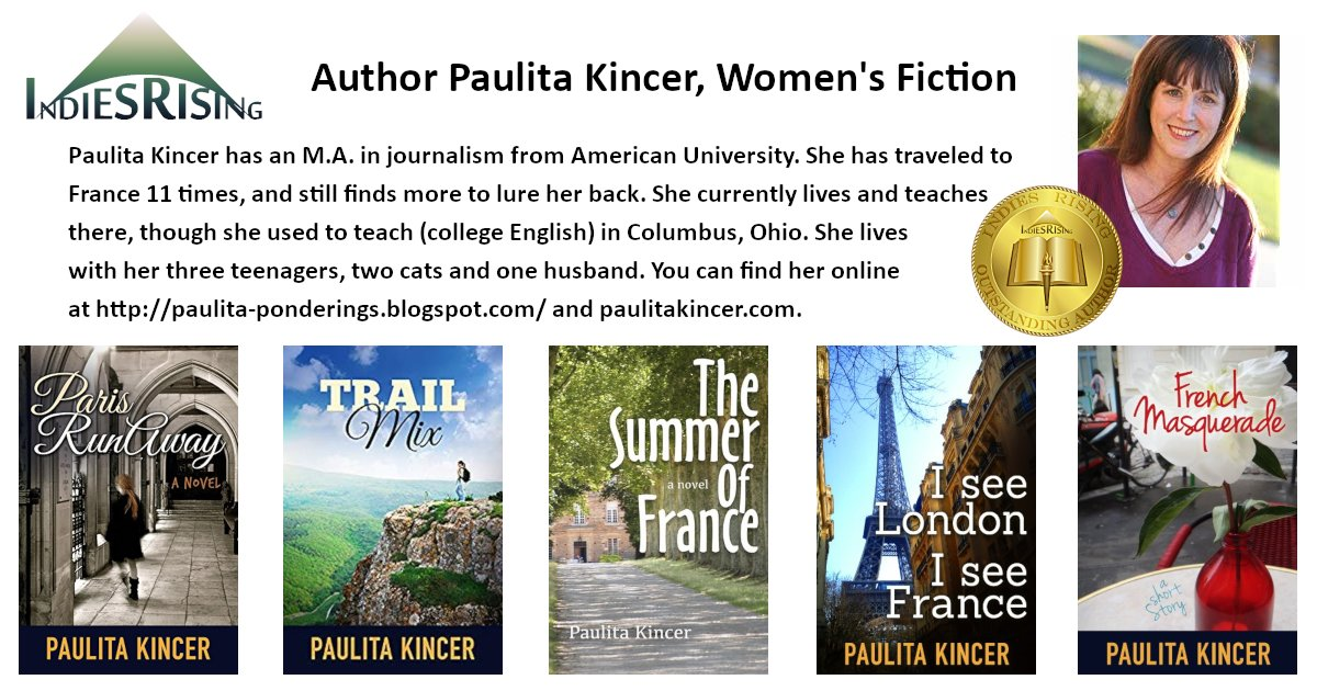 books and novels by outstanding independent self-published author Paulita Kincer