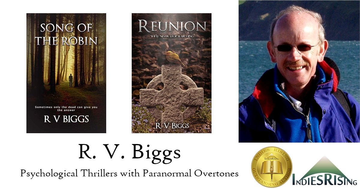 books and novels by outstanding independent self-published author R. V. Biggs