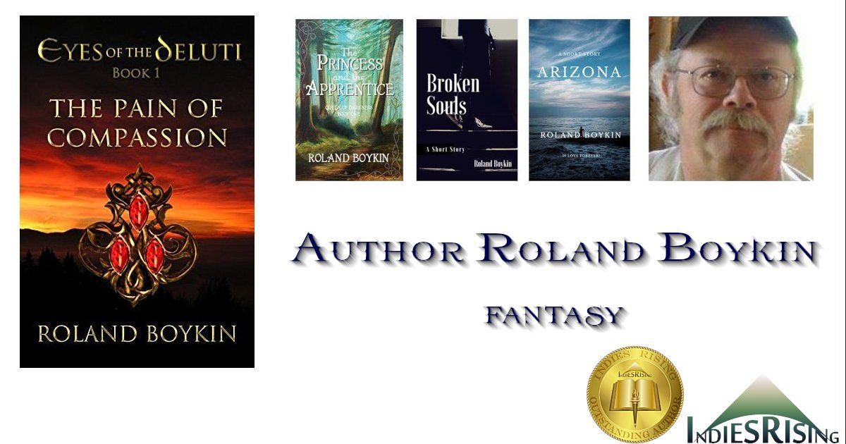 books and novels by outstanding independent self-published author Roland Boykin