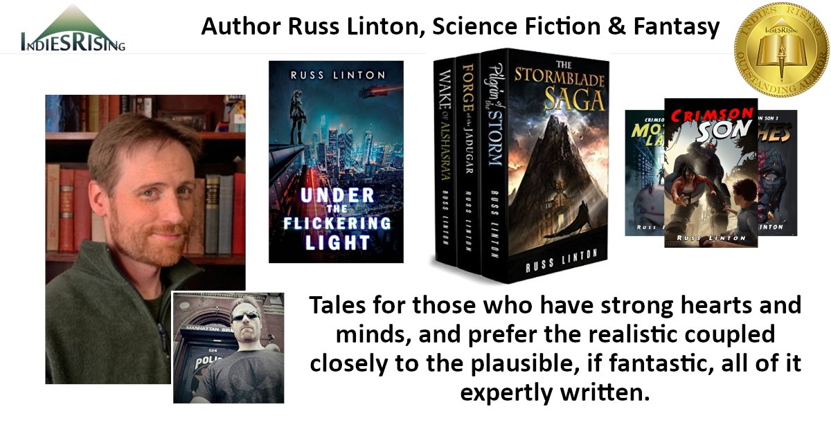 books and novels by outstanding independent self-published author Russ Linton