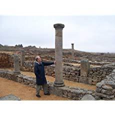 G. J. Berger visiting ancient ruins
