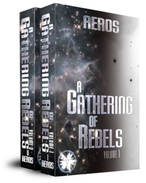 A Gathering of Rebels, epic science fiction novel by Aeros (D. L. Keur), a self-published, independent author