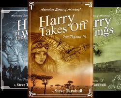 Iron Pegasus series by Steve Turnbull
