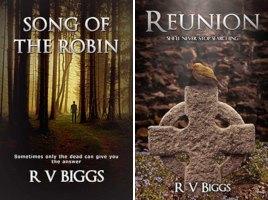 Independent, self-published author Robert V. Biggs' Sarah Macintyre Series