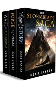 The Stormblade Saga by Russ Linton