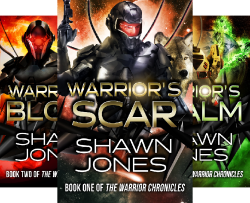 The Warrior Chronicles, a self-published science fiction series by independent author Shawn Jones